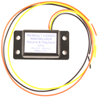 Coded Immobiliser Record / Playback Module (RPM)