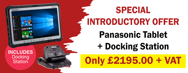 Panasonic Tablet and Docking Station Offer