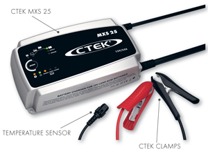 CTEK MXS25 12 Volt Battery Charger