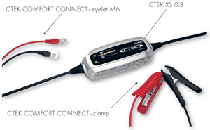 CTEK XS0.8 12 Volt Battery Charger