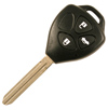 Toyota Style 3 Button Remote