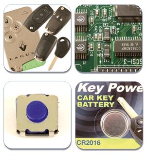 Hickleys :: Key and Remote Repair Kit