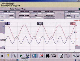 High performance universal oscilloscope
