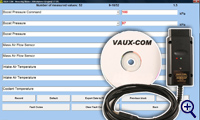 VAUX-COM Diagnostic Tester