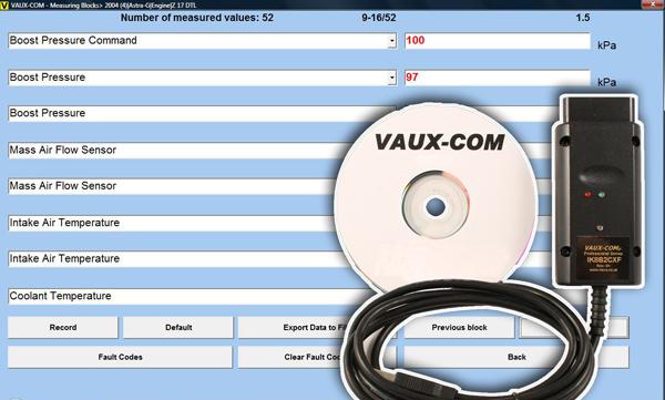 Hickleys :: VAUX-COM Diagnostic Tester