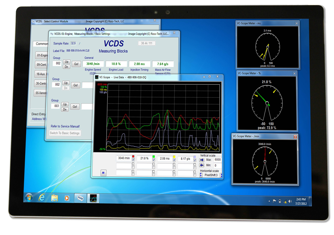 Hickleys :: VCDS VAG Specialist Diagnostics