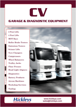 Commercial Vehicle Garage and Diagnostic Equipment