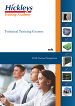 Hickleys Automotive Academy Training Brochure