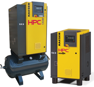 HPC SX8 and SX8RM Rotary Screw Compressor