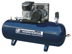 Workhorse WR3HP-150S Piston Compressor