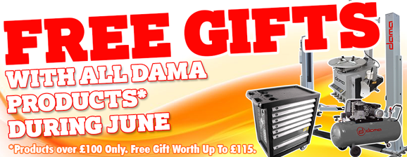 Free Gifts with Dama Products